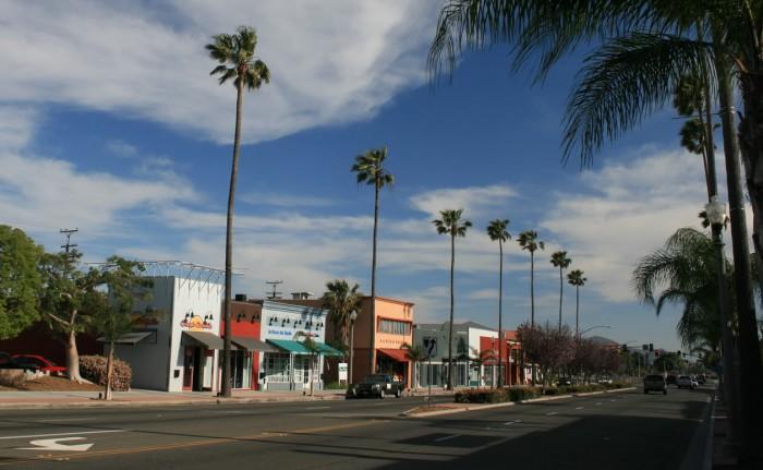 Sierra Avenue in Downtown Fontana