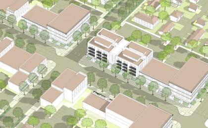 T.O.D. Center zone illustration