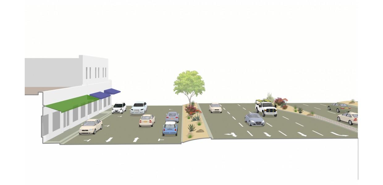 111 Corridor - existing condition model