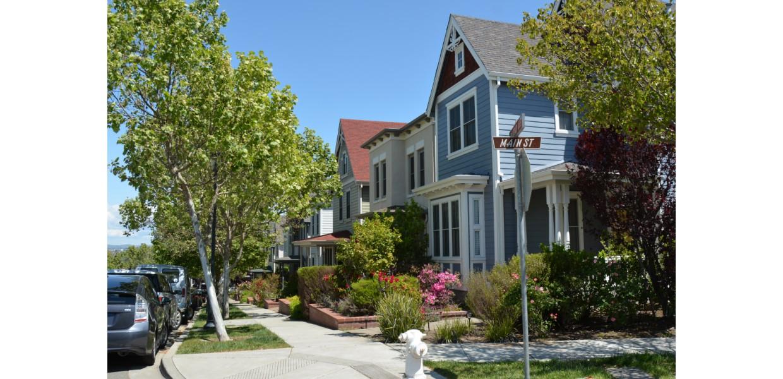 Waterfront neighborhood