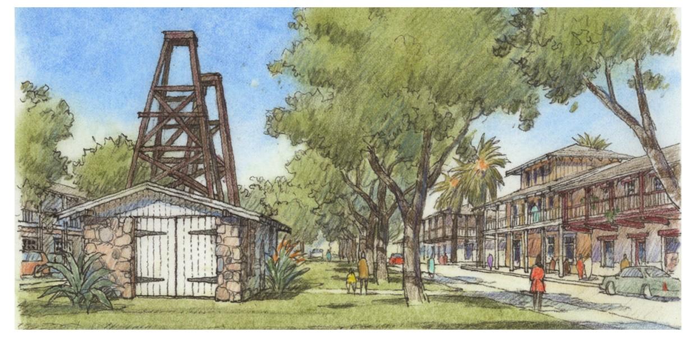 Pumphouse Green, East Area 1, Santa Paula