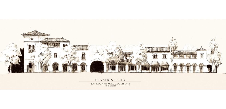 Conceptual facade study of McCullough