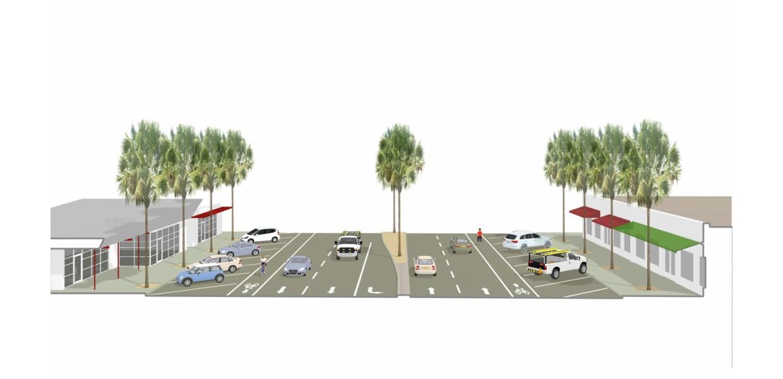San Pablo Avenue - existing condition model
