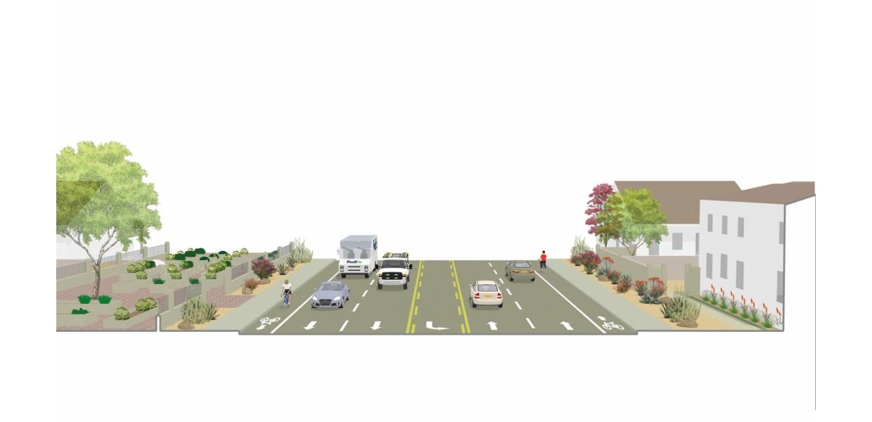 San Pablo Avenue - existing condition
