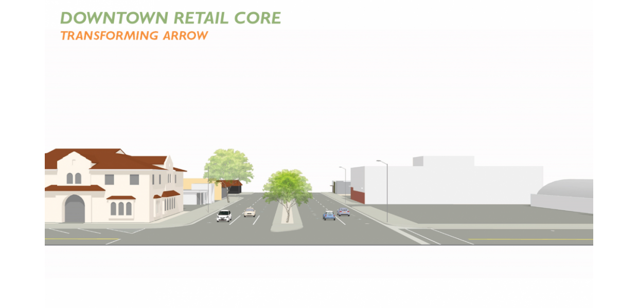 Arrow Highway Placemaking Opportunity