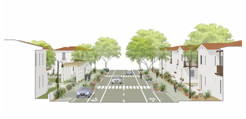 Mixed Housing Type Neighborhood