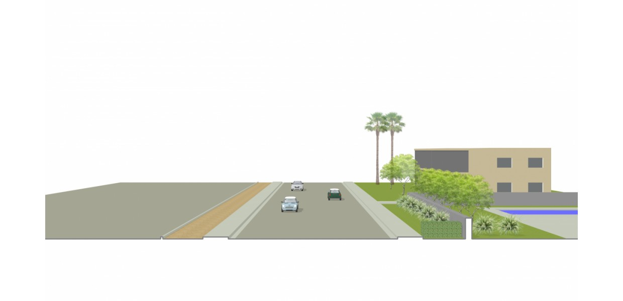 Midtown Streetscape - Existing Condition