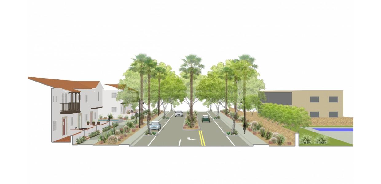 Midtown Streetscape - Future Condition